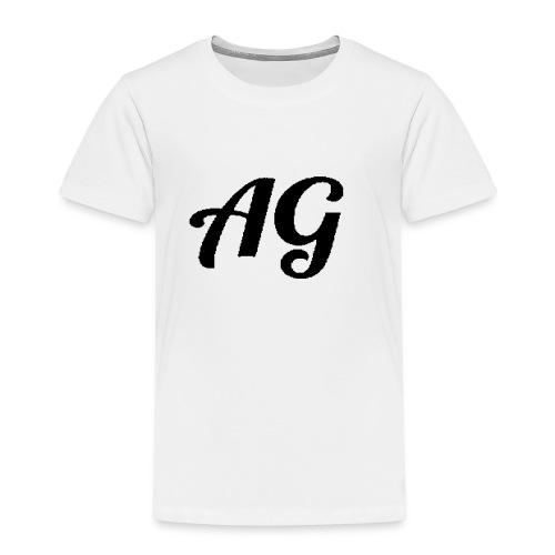 Zwarte Letters - Kinderen Premium T-shirt