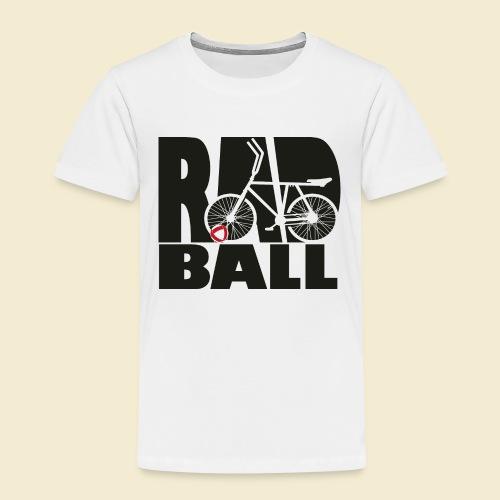 Radball   Typo Black - Kinder Premium T-Shirt