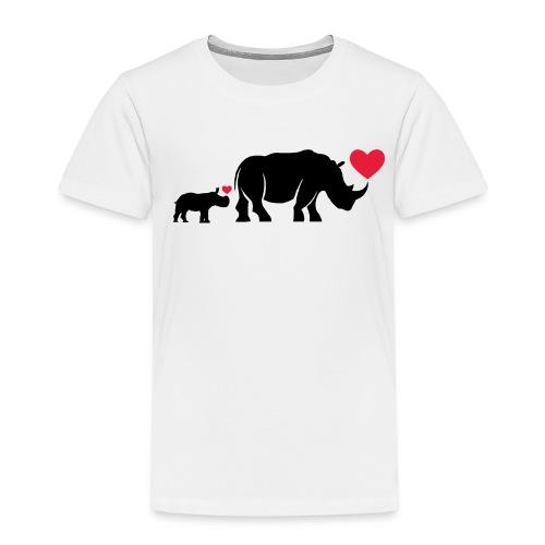 Russell Rhino mum and son - Kids' Premium T-Shirt
