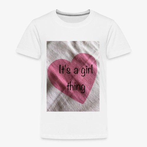 It's a girl thing! - Kids' Premium T-Shirt