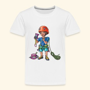 Little baby climber 4 - Kids' Premium T-Shirt