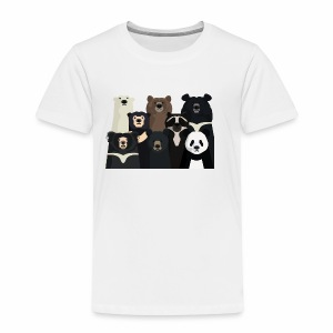 Bears of the world - Kids' Premium T-Shirt