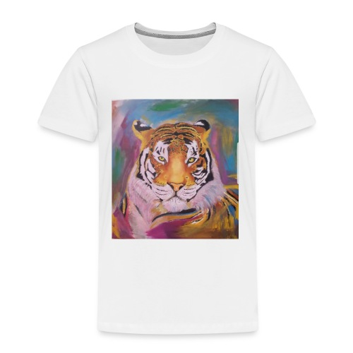 The Tiger Of Diffrent Shades - Premium-T-shirt barn