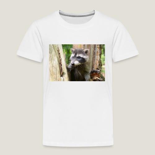 Junger Waschbär - Kinder Premium T-Shirt