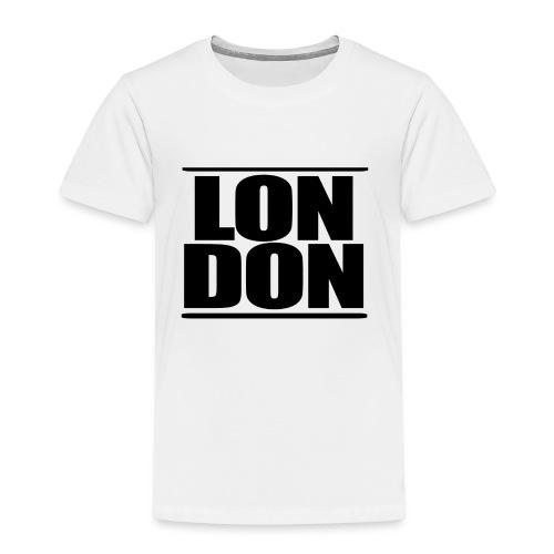 LON   DON Black - Kids' Premium T-Shirt