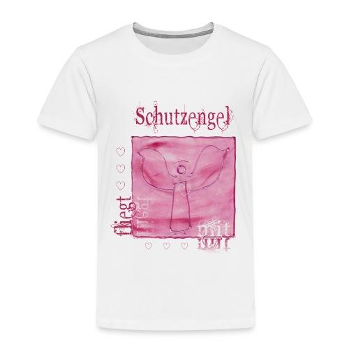 schutzengel fliegt mit! - Kinder Premium T-Shirt