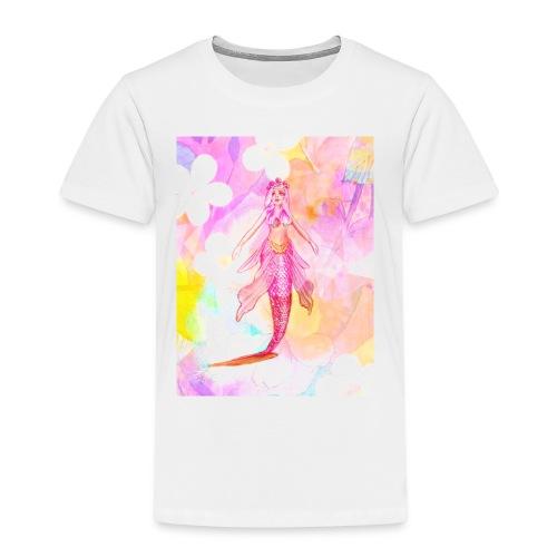 ®La Sirène de Fleurs (The Flower Mermaid) - Kids' Premium T-Shirt