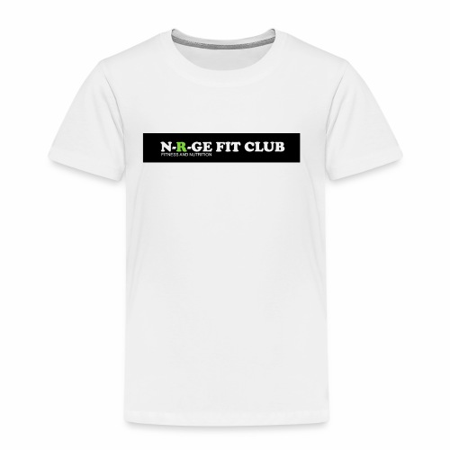 N-R-GE FIT CLUB LOGO - Kids' Premium T-Shirt