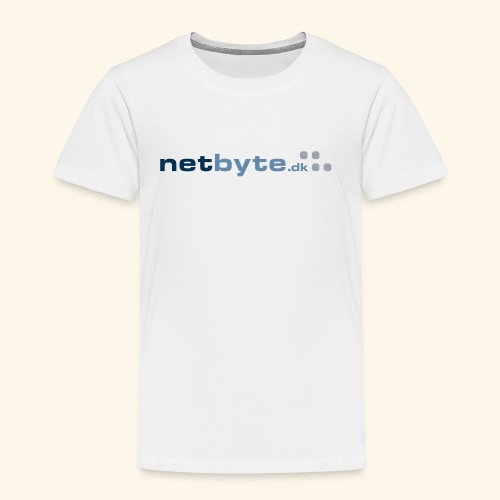 netbyte.dk logo - Børne premium T-shirt