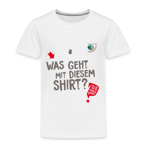 WAS GEHT? - Kinder Premium T-Shirt