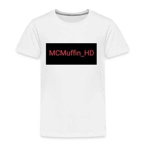 MCMuffin_HD mit Schriftzug - Kinder Premium T-Shirt