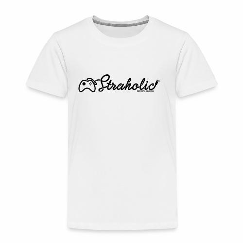 Straholic - Logo - Premium-T-shirt barn