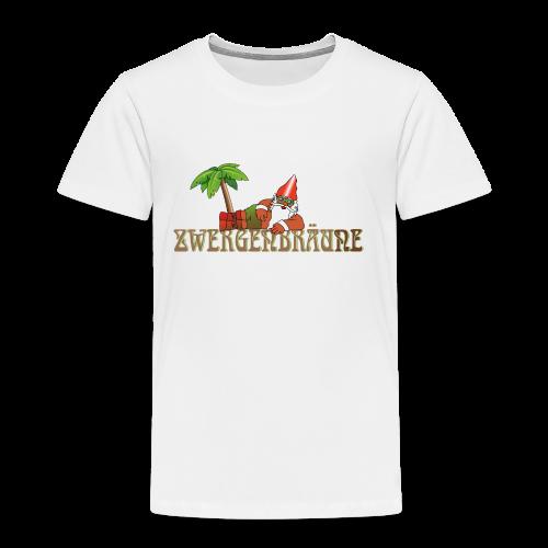 ZWERGENBRÄUNE - Kinder Premium T-Shirt