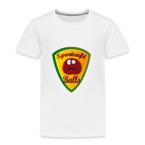 Logo Sportcafé Balls - Kinderen Premium T-shirt