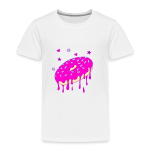 Drippy Pink Donut - Kinder Premium T-Shirt