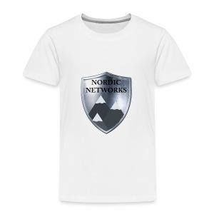 Nordic Networks Logo - Premium T-skjorte for barn