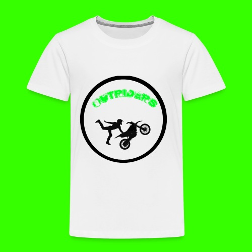 OUTRIDERS LOGO SIMPLE - Kinder Premium T-Shirt