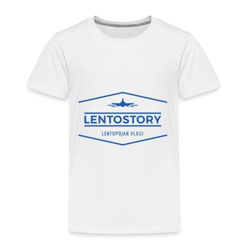 Lentostory - Lasten premium t-paita