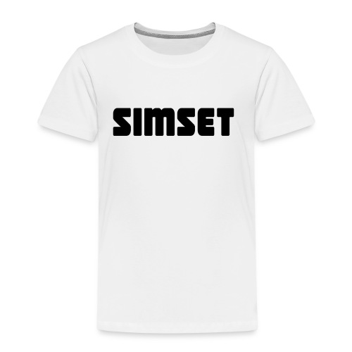 SIMSET - Premium T-skjorte for barn