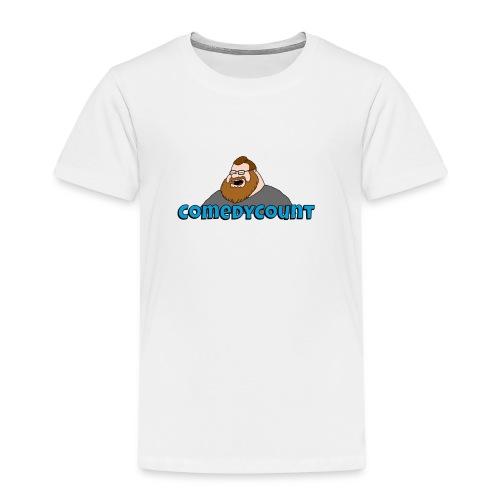 COMEDY LOGO - Børne premium T-shirt