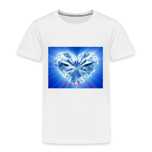 A girls best friend - Kinderen Premium T-shirt