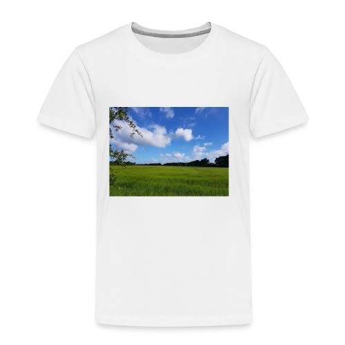 Feld in Schleswig Holstein - Kinder Premium T-Shirt