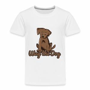 wag the dog - Kinder Premium T-Shirt