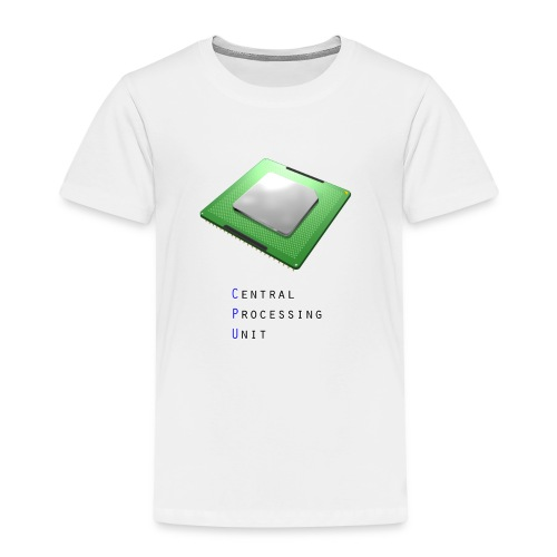 CPU - Central Processing Unit - Kinder Premium T-Shirt