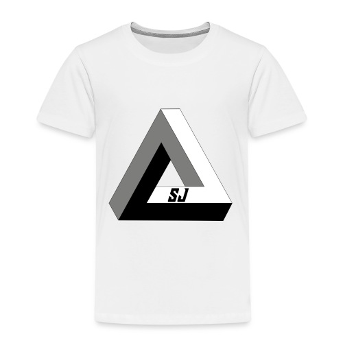 SJ Unlimited triangle - Premium T-skjorte for barn
