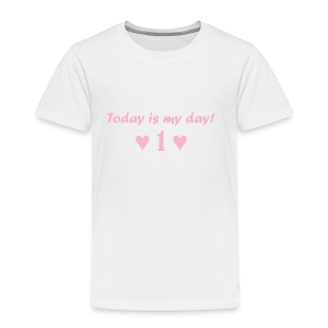 Birthday girl rosa - Kinder Premium T-Shirt
