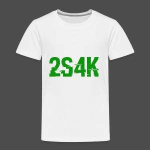 LOGO Grønn Hacked - Premium T-skjorte for barn