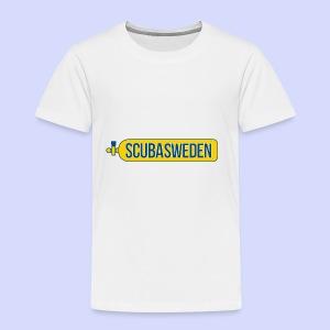 scubasweden logo - Premium-T-shirt barn