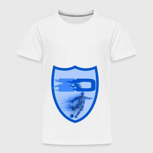 J R Footballers Shield Logo - Kids' Premium T-Shirt