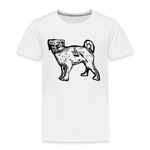 Pug Dog - Kids' Premium T-Shirt