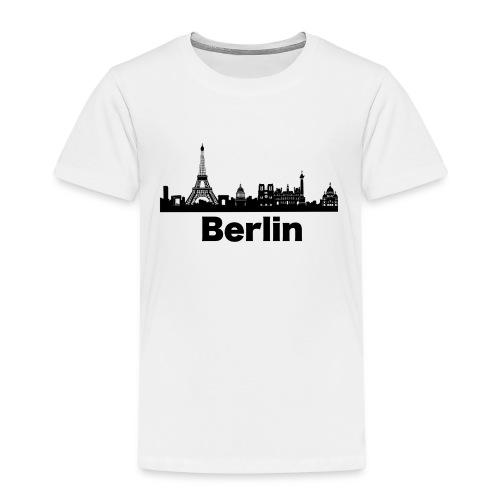Verwirrende T-Shirts Berlin Paris Skyline - Kinder Premium T-Shirt