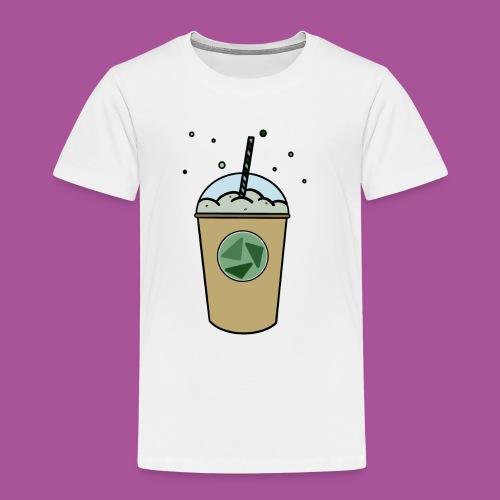 Grüner_Becher - Kinder Premium T-Shirt