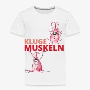 Kluge Muskeln - Kinder Premium T-Shirt