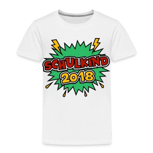 Schulkind ein schönes Geschenk zum Schulantritt - Kinder Premium T-Shirt