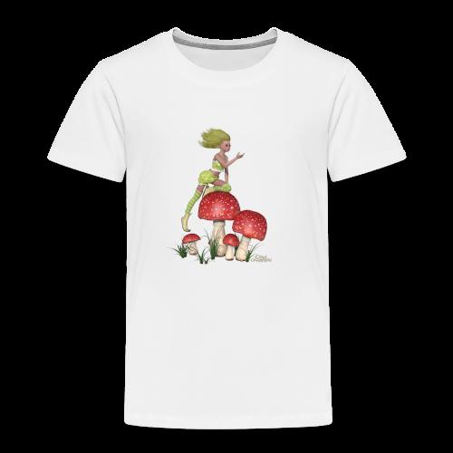 Lutine aux champignons - T-shirt Premium Enfant