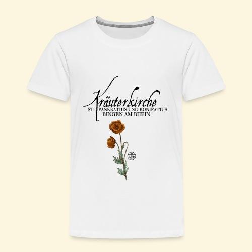 Kräuterkirche Mohn - Kinder Premium T-Shirt