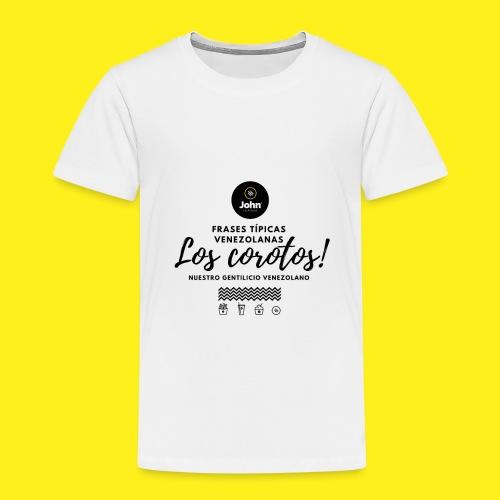 FRASES VENEZOLANAS 2F JOHN LAAREPA 5 - Camiseta premium niño