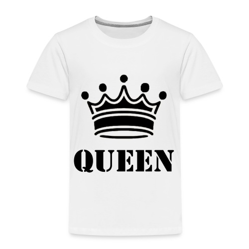 Queen - Premium-T-shirt barn