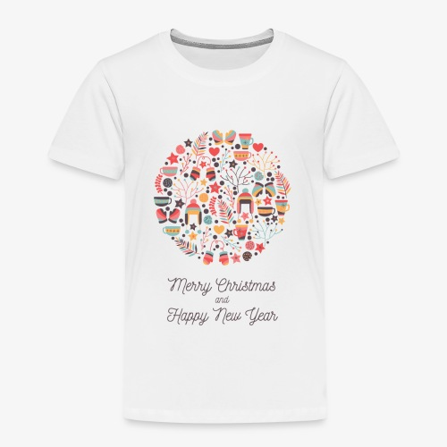 Merry Christmas and Happy New Year - T-shirt Premium Enfant