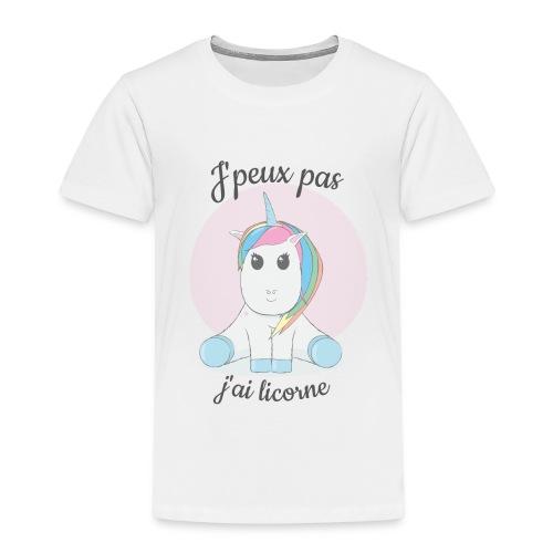 J'peux pas j'ai licorne - T-shirt Premium Enfant