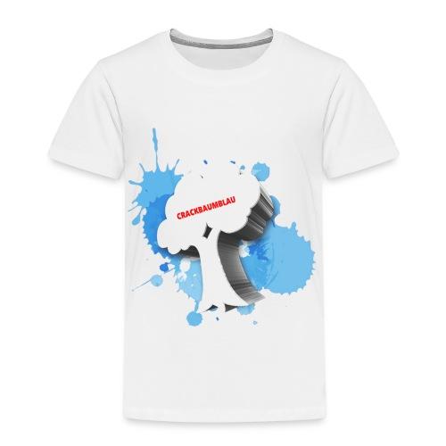 CrackBaumBlau - BAUM - Kinder Premium T-Shirt