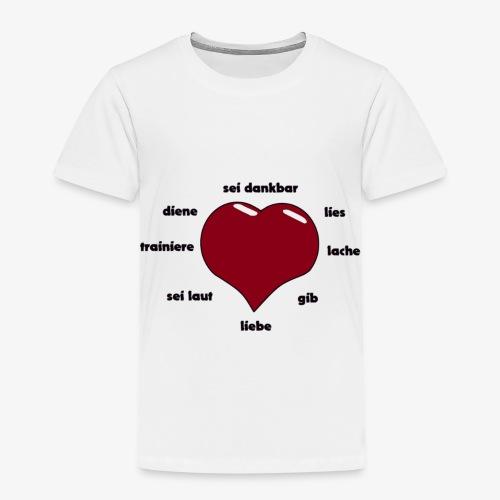 liebe - Kinder Premium T-Shirt