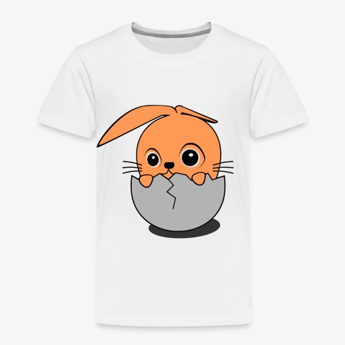 bunny in the egg - Kinder Premium T-Shirt
