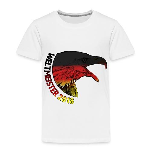Deutschland Weltmeister 2018 Fußball WM Russland - Kinder Premium T-Shirt