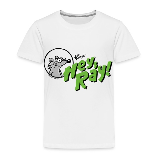 Hey Ray Logo green - Kinder Premium T-Shirt