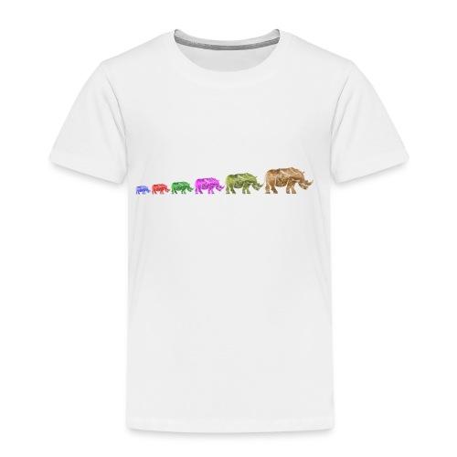 Limited Edition Russell Rhino - Kids' Premium T-Shirt
